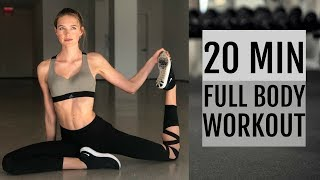 20 Minute Full Body Workout   What I Did To Get Ready For The Victoria's Secret Show
