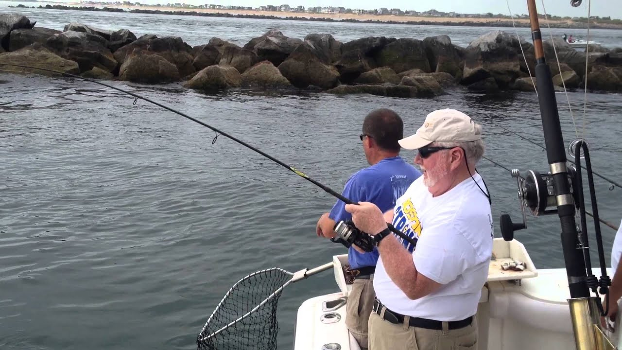 Fishing with School's Out Fishing Charters Striped Bass Newburyport