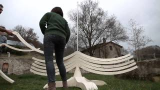 Wood idea - Christmastree ALBERT 400