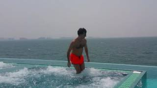 Obi Burj Alarab Dubai Infinity swimming pool