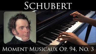 Schubert - Moment Musicaux Op.94 No.3 in F minor (D.780)