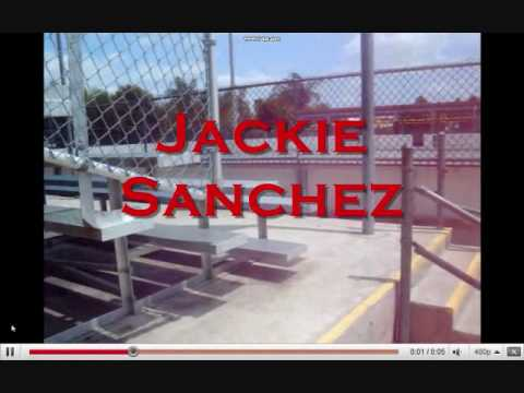 Jackie Sanchez Skateboarding