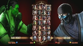 Mortal Kombat 9 ShangTsung  Dark Energy