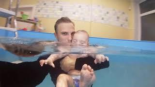 Грудничковое плавание в Москве | Бульк Жуковский #18