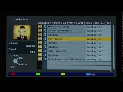 How To Use DLNA And External HDD On Your Viera TV.mp4