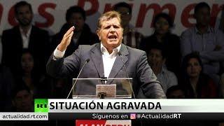 Expresidente peruano Alan García se suicida ante arresto por corrupción
