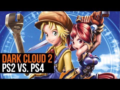 Dark Cloud 2 PS2 vs. PS4
