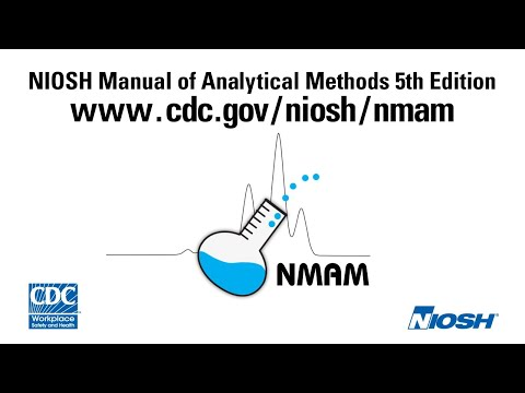 Introduction to the NIOSH Manual of Analytical Methods Fifth edition