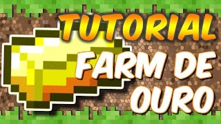 Minecraft Xbox One - Tutorial Farm de Ouro - Eficiente no Survival