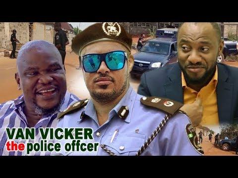 Van Vicker The Police Officer  - Van Vicker & Yul  Edochie Latest Nigerian Movie Ll African Movie