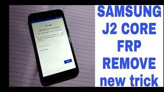SAMSUNG J2 CORE SM-J260G 8 1 0 GOOGLE ACCOUNT BYPASS by BK SMART POINT