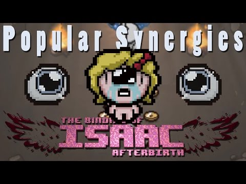 The Binding of Isaac Afterbirth | Polyphemus | Popular Synergies!