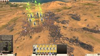 Total War: Rome 2 - Massive Battles - 1000 Silver Shield Pikemen vs. 25,000 Levy Freemen
