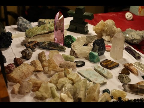 Stone & Crystals; Stone energy pt 2!  Close up examples & metaphysical attributes!