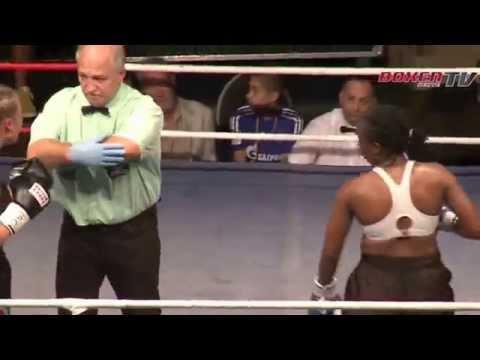 Jennifer Retzke vs. Florence Muhtoni | IBO Weltmeisterschaft 2014