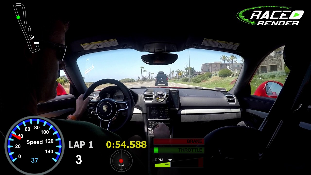 GT4 - Track Addict and GoPro test