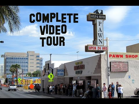 A complete video tour of the Gold and Silver Pawn Shop PAWN