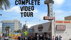 A complete video tour of the Gold and Silver Pawn Shop PAWN STARS Las Vegas
