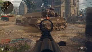 Call of Duty WWII Beta (Modo Guerra)