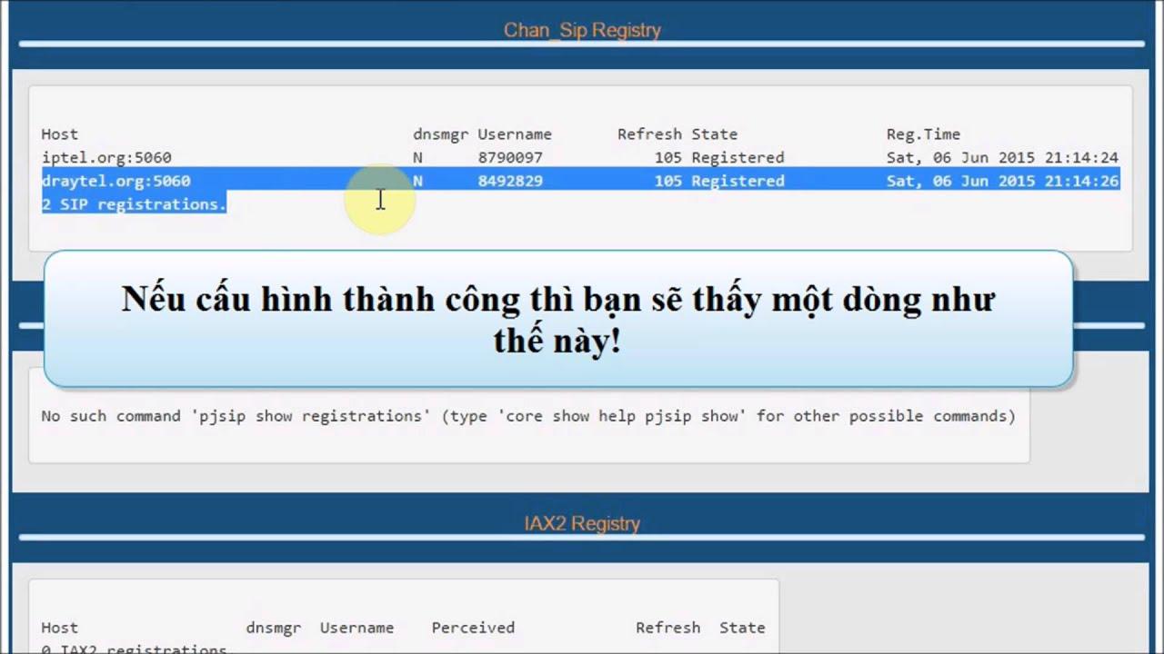 Demo NAT on FreePBX (Part 2 - Configure)