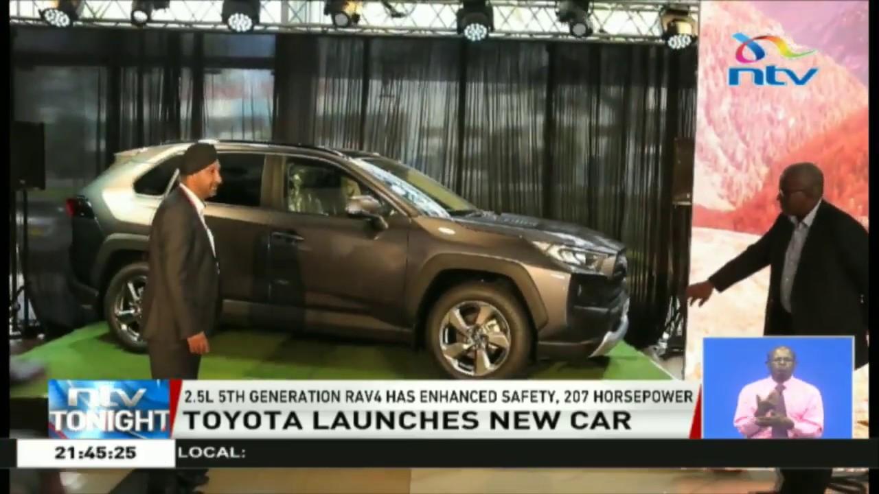 toyota kenya launches new car rav4 youtube toyota kenya launches new car rav4