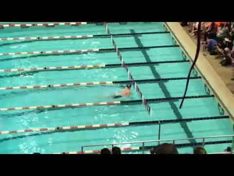 Max McHugh Breaks National High School/National Age Group Record in 100 yard breaststroke