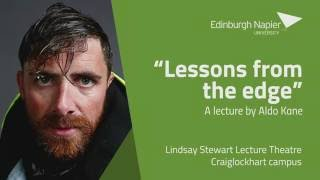 Aldo Kane - Lessons from the edge