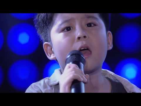 Justin # Writing's on the wall # The Voice Kids Thailand Season 4  # 2016 # Blind Audition