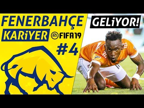 ARA TRANSFER GELDİ! // FIFA 19 Fenerbahçe Kariyer #4 [2. SEZON]