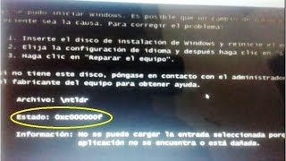 Erro no arranque do Windows failed to start  File Boot BCD Erro 0xc00000f, Solução Passo a Passo