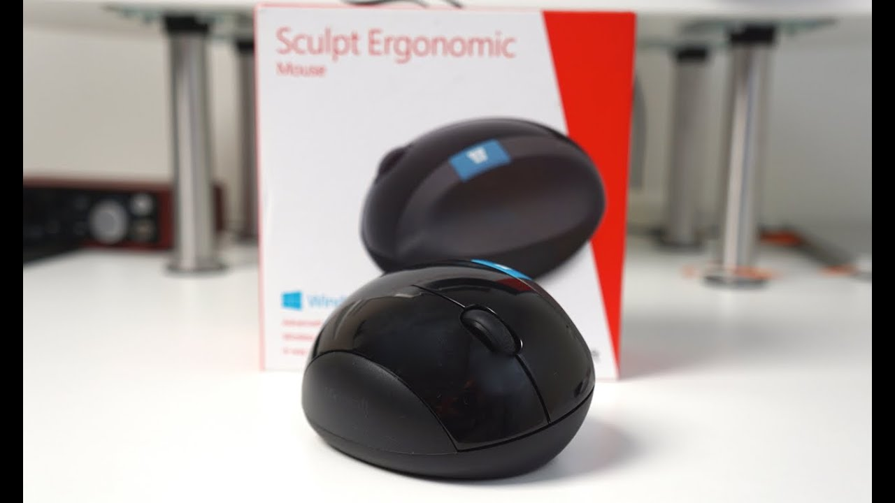 db5aaa4538f Microsoft Sculpt Ergonomic Mouse Review - YouTube