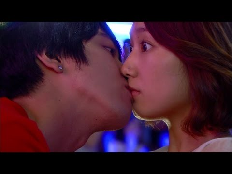 【TVPP】Park Shin Hye - First kiss with Yong Hwa, 용화(신)와 달콤한 첫 키스! @ Heartstring