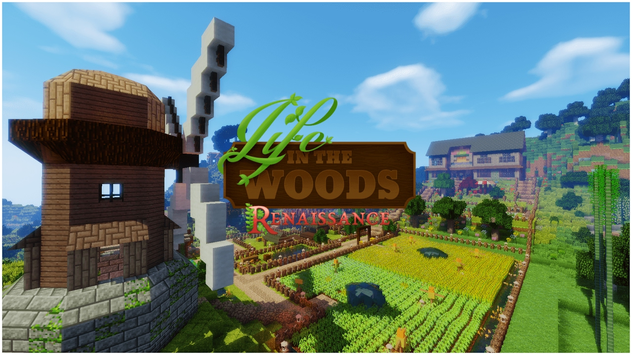 Life In The Woods Renaissance Server Launch YouTube - Minecraft server erstellen life in the woods