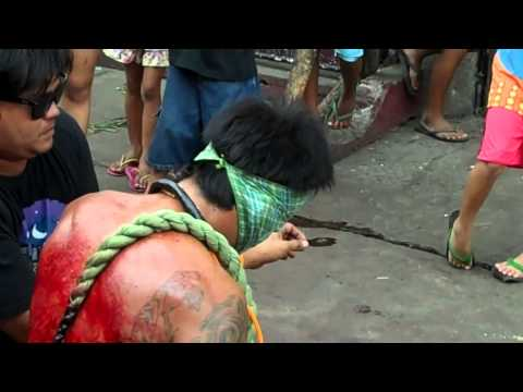 Flagellation Good Friday Philippines  Easter 2012