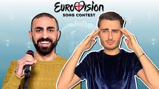 """Georgia Eurovision 2021 - Tornike Kipiani """"You"""" REACTION (French with English Subtitles)"""