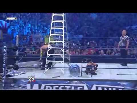 wrestlemania 25 matt hardy vs jeff hardy extreme rules