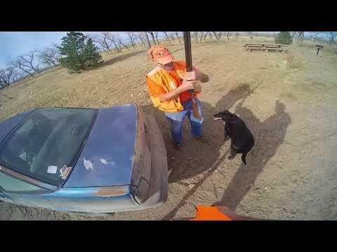 Cimarron National grasslands trip Doug 10 gauge shotgun