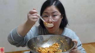 [bibimbap][ビビンバ] 양푼비빔밥&계란후라이 두개~🍳🍳