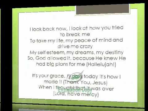 Kirk Franklin Declaration (This Is It) Lyrics