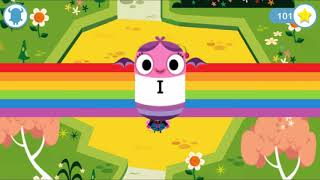 Kids Learning Letters Sound With Funny Monster-Teach Your Monster to Read Phonics and Reading Part10