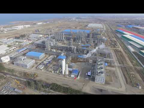 SOCAR Polymer construction site_Drone_December 2017