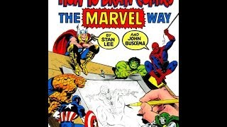 Stan Lee's - How to Draw Comics the Marvel Way (Full Length)(UPDATE******* Go to the new version of this video click here: http://tinyurl.com/n6afr27 No more wobbly camera! Smaller File, Same Quality, Much smoother!, 2014-03-28T10:29:49.000Z)