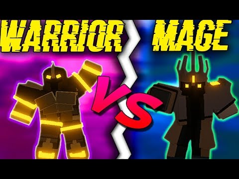 *NEW*  DAMAGE UPDATE BUFF FOR MAGE AND WARRIOR! (ROBLOX DUNGEON QUEST)