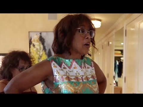 Watch Gayle King get ready for the Time 100 gala