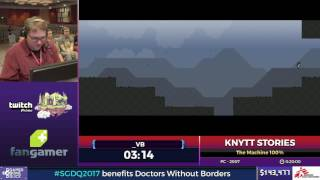 Knytt Stories by _VB in 48:47 - SGDQ2017 - Part 14