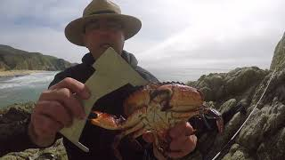 Catch Crab by hand on low tide - and more  Mar 31, 2018   Part 2
