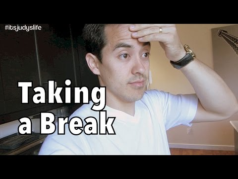 taking a break from each other - July 13, 2014 - itsjudyslife daily vlog thumbnail