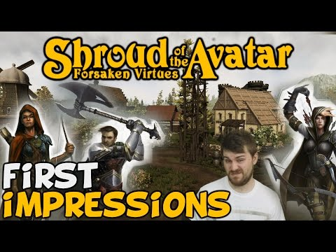 """Shroud Of The Avatar First Impressions """"Is It Worth Playing?"""""""