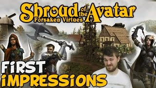 "Shroud Of The Avatar First Impressions ""Is It Worth Playing?"""