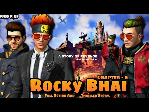 ROCKY BHAI || KGF || CHAPTER - 6 || FREE FIRE SHORT ACTION ...